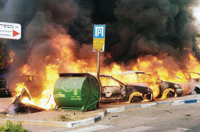 חיפה במלחמת לבנון השנייה . צילום: מייקל ילינסון
