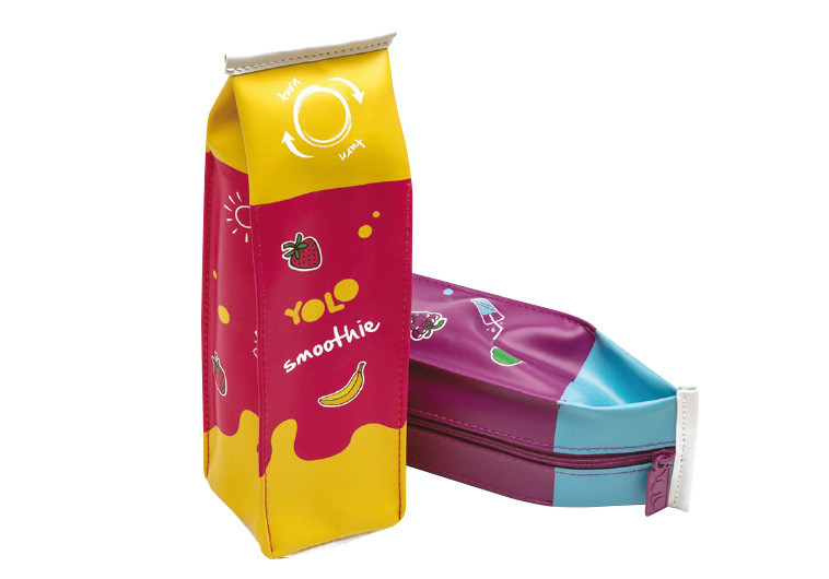 """קלמר בעיצוב של קרטון חלב. צילום: יח""""צ"""