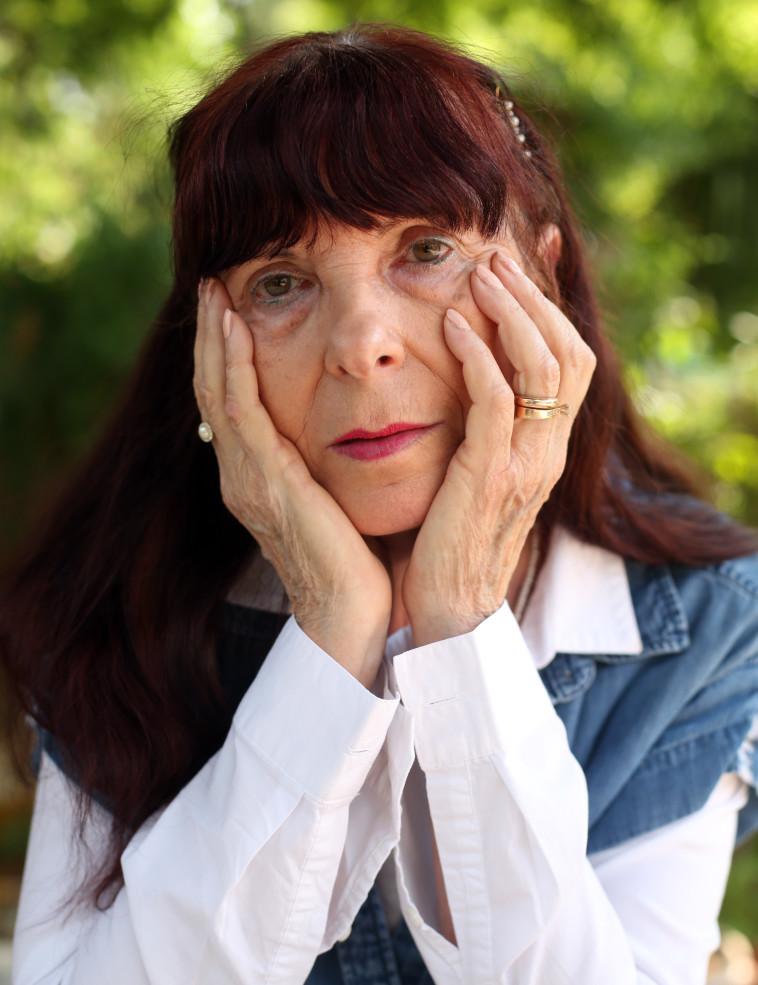 רנה חבר, אמו של גיא חבר. צילום: אריאל בשור
