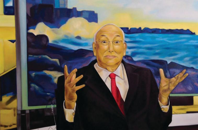 ירון לונדון, ציור של אורלי דביר