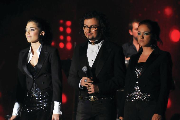 """מיי פיינגולד ב""""כוכב נולד"""", 2009, צילום: יהודה בן יתח"""