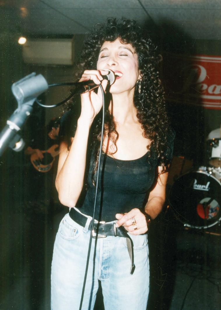 אביבה אבידן בתחילת שנות ה־90. צילום: חגית כתב