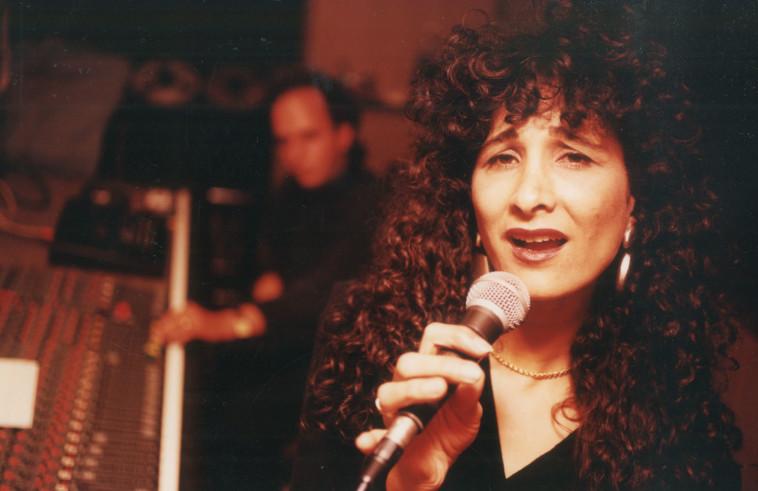 אביבה אבידן בתחילת שנות ה־90.יהונתן שאול