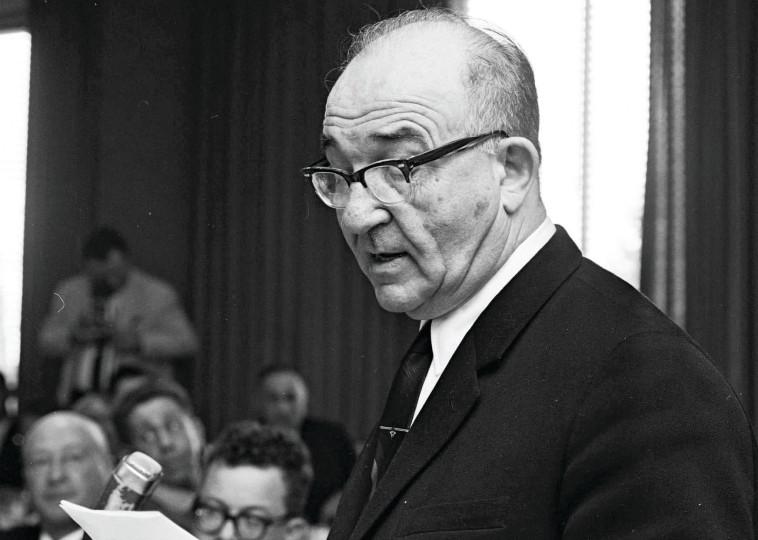 """אשכול. החליט ב-1968 שהמוסד לא יזום עוד מרדפים אחרי פושעי מלחמה נאצים. צילום: משה פרידן, לע""""מ"""""""