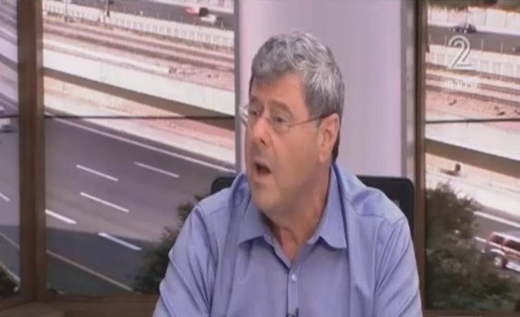 """ד""""ר יוסף ליסי. צילום מסך ערוץ 2"""