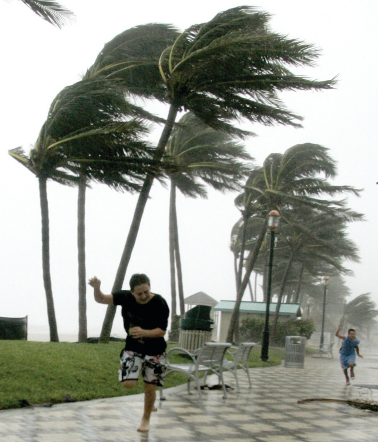 הוריקן קתרינה. הסופה הרצינית האחרונה שהתרחשה עד השבוע האחרון. צילום: רויטרס