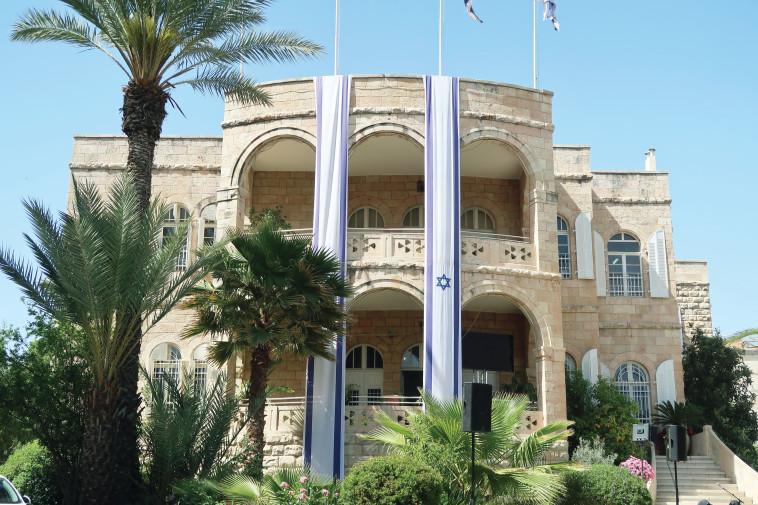 השגרירות הנוצרית הבינלאומית בירושלים. צילום: מאיר עוזיאל