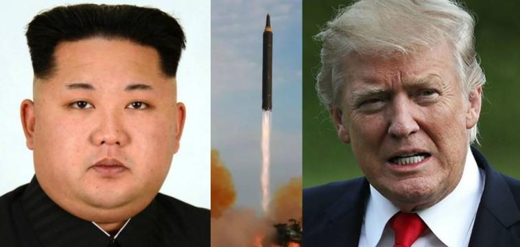 טראמפ וקים ג'ונג און. צילום: רויטרס