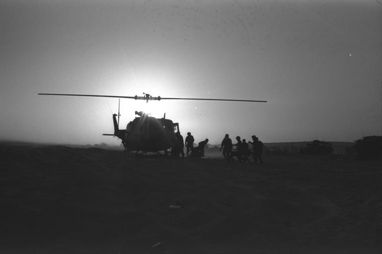 מלחמת יום הכיפורים (צילום: רון אילן, לע''מ)