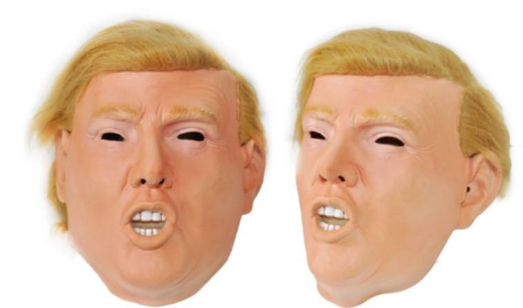 ללא אדם מאחורי המסכה, השחור בעיניים משווה למסכה מראה קצת מפחיד. צילום מסך: איביי