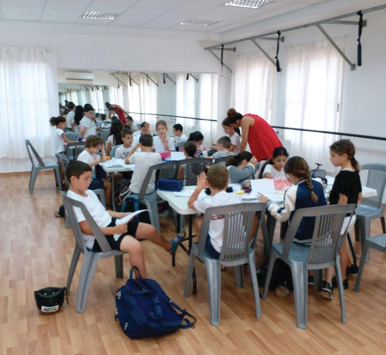 """בית הספר האלטרנטיבי בשרון. צילום: הנהגת הורי בית הספר """"בכר רוסו"""""""