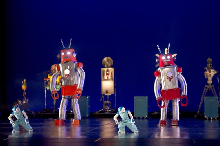 בלנקה לי, מופע 'רובוט' צלם : Laurent Philippe