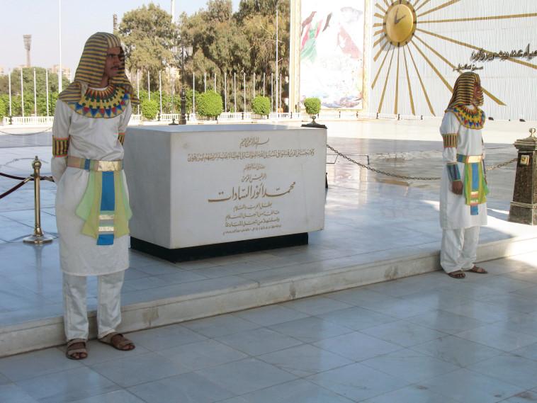 קברו של סאדאת. צילום: ג'קי חוגי
