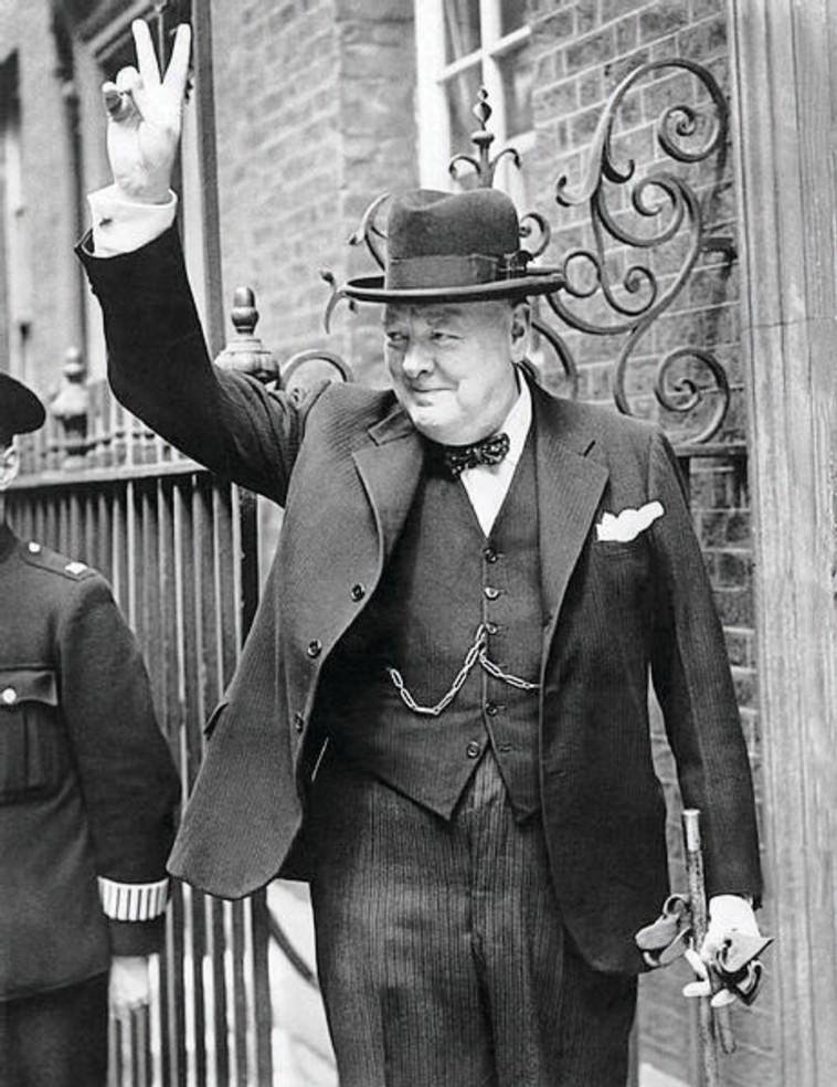 וינסטון צ'רצ'יל. צילום: ממשלת בריטניה