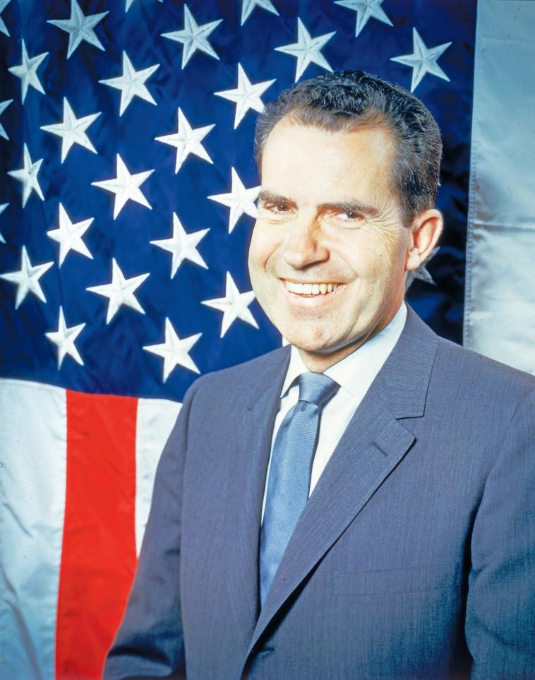 הנשיא ריצ'רד ניקסון. צילום: keystone/gettyimages