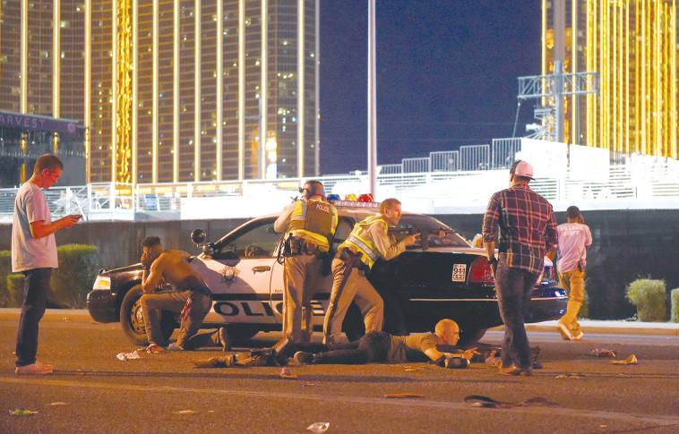 AFP :הירי בלאס וגאס. צילום