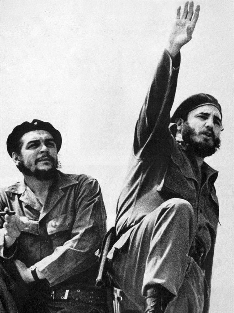 היו קרובים, אך התרחקו. פידל קסטרו וצ'ה גווארה