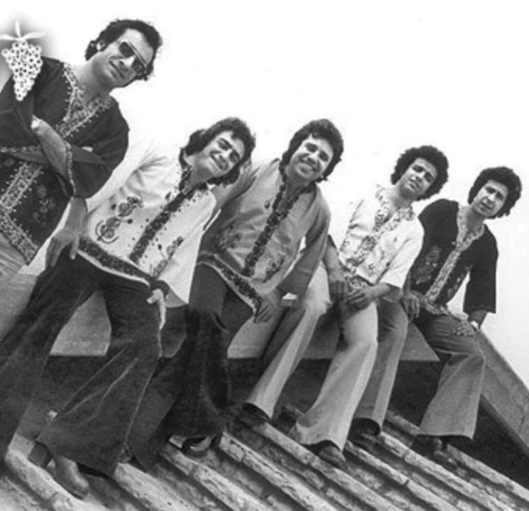 """רמי דנוך, """"צלילי העוד"""" בשנות ה־70. צלם : אילן בשור"""