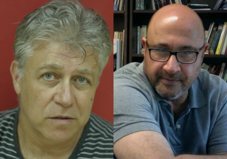 פרופ׳ סמי שלום שטרית, יונתן בר גיורא מלחין קולנוע וטלוויזיה. צילום פרטי