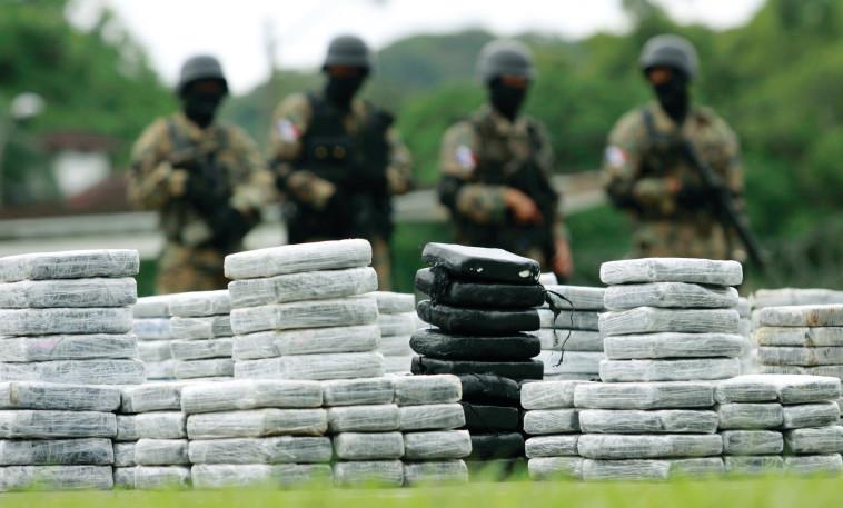 משלוח קוקאין שנתפס בדרום אמריקה. צילום: רויטרס