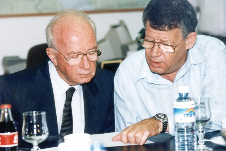 """""""לרבין היה אומץ להיכנס לתהליך עם הפלסטינים"""". צילום: פלאש 90"""