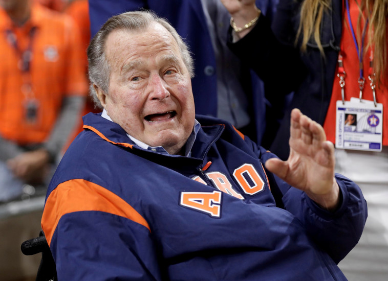 ג'ורג' בוש האב. צילום: רויטרס