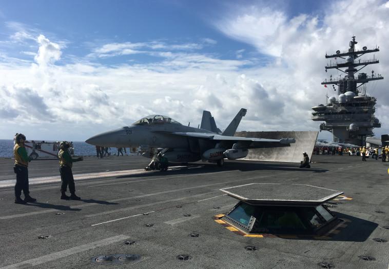 נושאת מטוסים אמריקאית, ארכיון. צילום: רויטרס