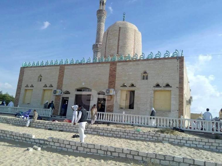 המסגד בכפר א-רודה. צילום: הרשתות הערביות