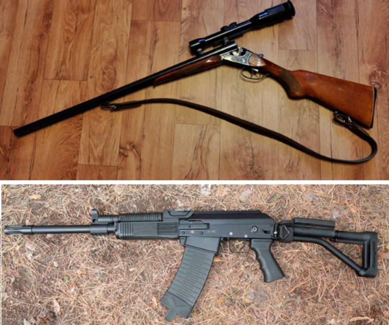 הרובים שגנב הדוב. צילום מסך: הסיביריאן טיימס