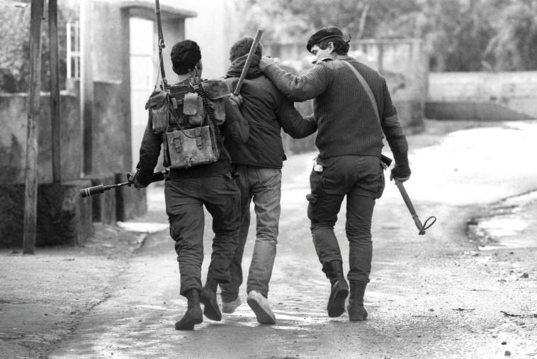 """מעצר בקלנדיה. צילום: צביקה ישראלי, לע""""מ"""