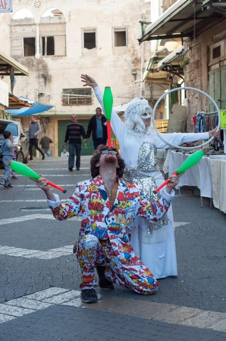 """פסטיבל חג המולד בנצרת. צילום: פאי סאל בע""""מ"""