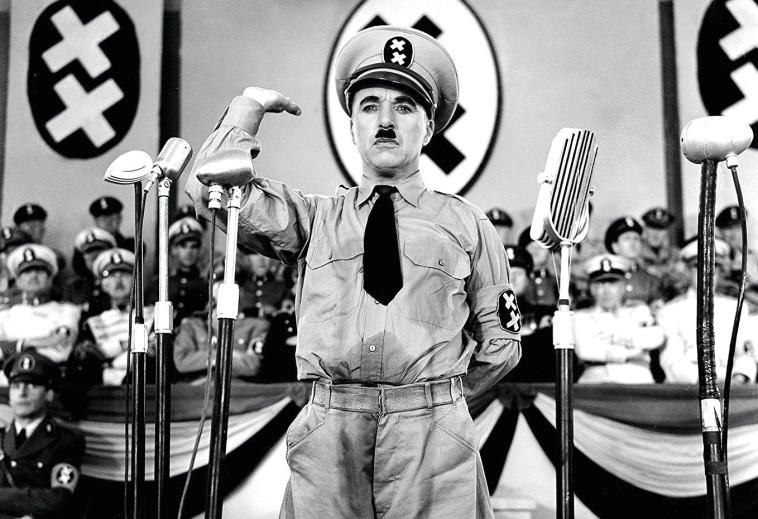 """צ'רלי צ'פלין, """"הדיקטטור הגדול"""", 1940 . IMDB"""