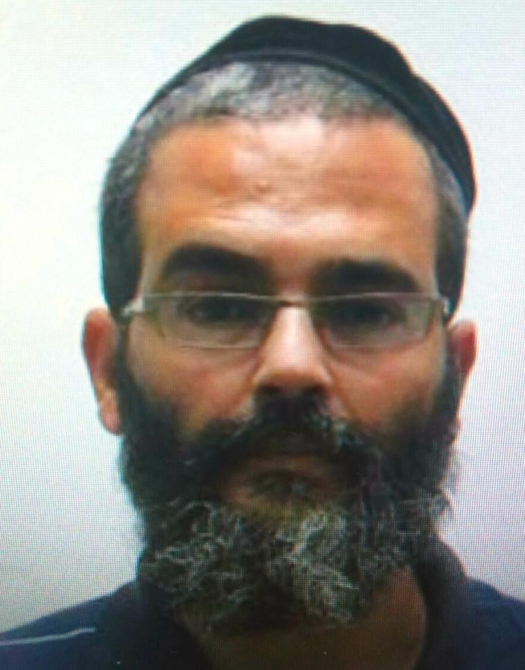שמעון שורקי, החשוד בעבירות מין בקטינים. צילום: דוברות המשטרה
