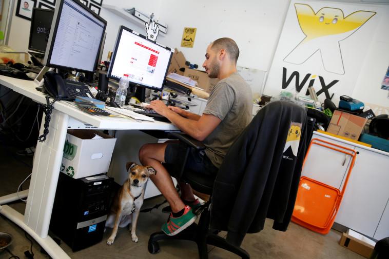 משרדי WIX בתל אביב (למצולמים אין קשר לידיעה. צילום: רויטרס)