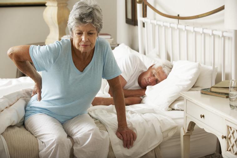 כאבי גב, אילוסטרציה. צילום: Getty images