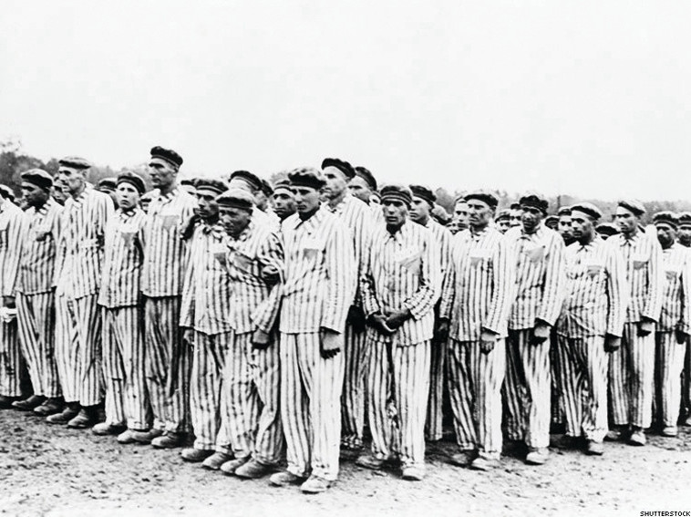 Heinrich Hoffman collection :הומוסקסואלים במחנה ריכוז. צילום