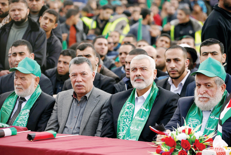 הנהגת חמאס. צילום: רויטרס