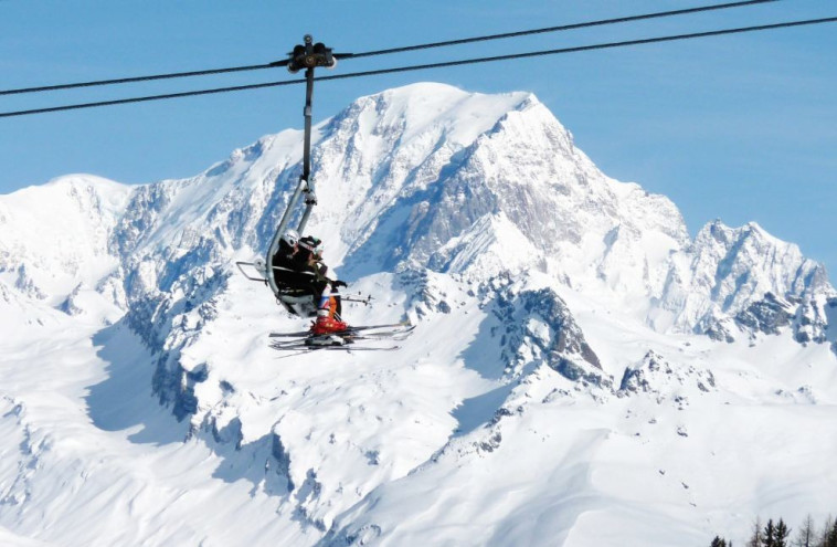 סקי בצרפת. צלם: שלמה בלייך