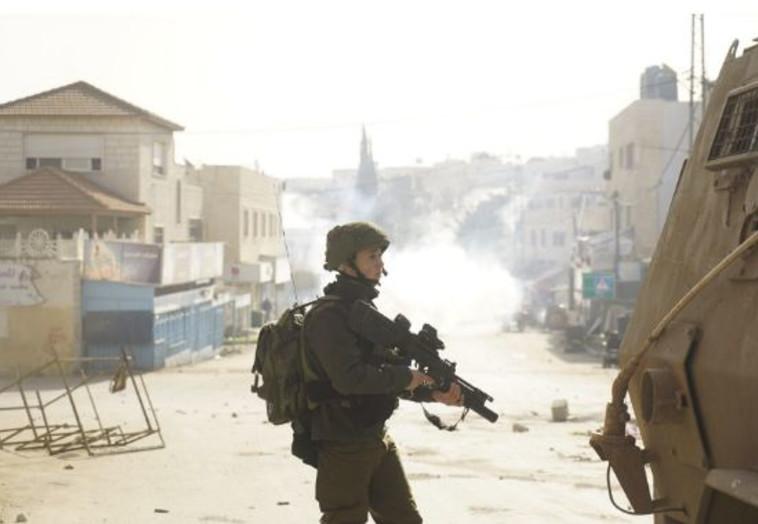 """חיילי צה""""ל בפעילות בשומרון. צילום: דובר צה""""ל"""