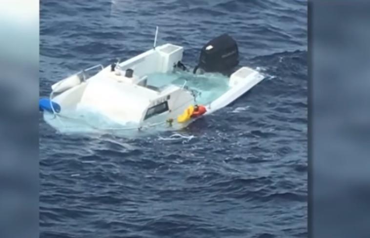 סירתו של מוס. צילום מסך