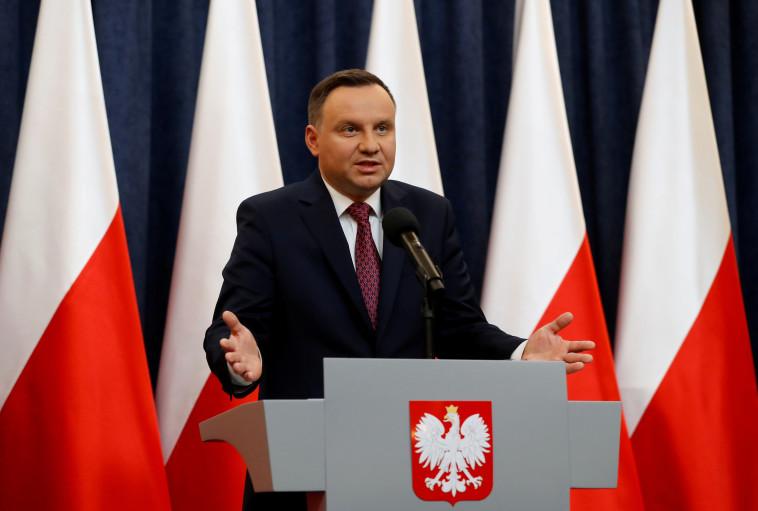 נשיא פולין אנדז'יי דודה. צילום: רויטרס