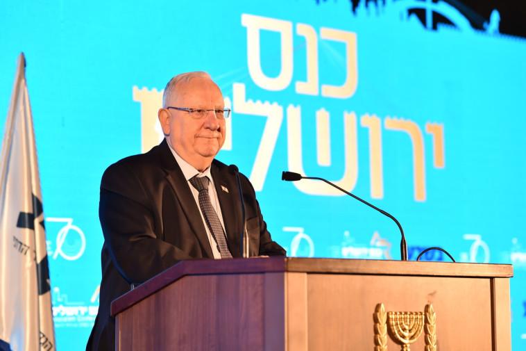 הנשיא ראובן רובי ריבלין. צלם : ישראל ברדוגו