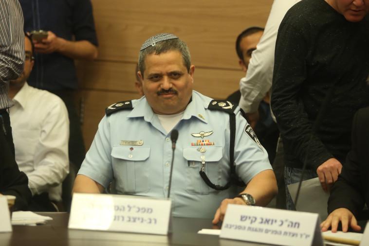 """""""המשטרה מחפשת חיבוק מהתקשורת"""". המפכ""""ל רוני אלשיך, צילום: מרק ישראל סלם"""