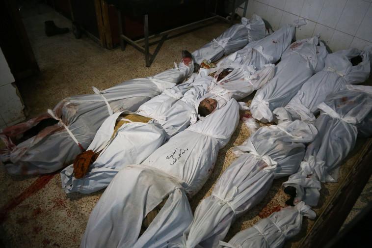 הילדים שנהרגו בע'וטה. צילום: AFB