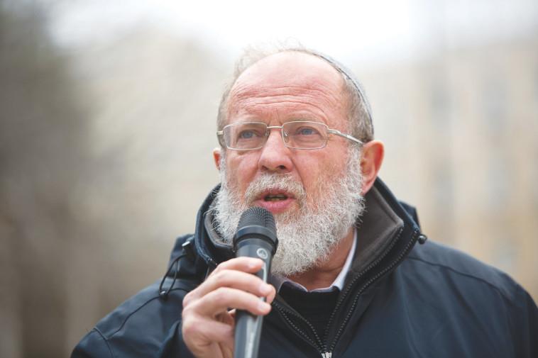 הרב סדן. צילום: יונתן זינדל, פלאש 90
