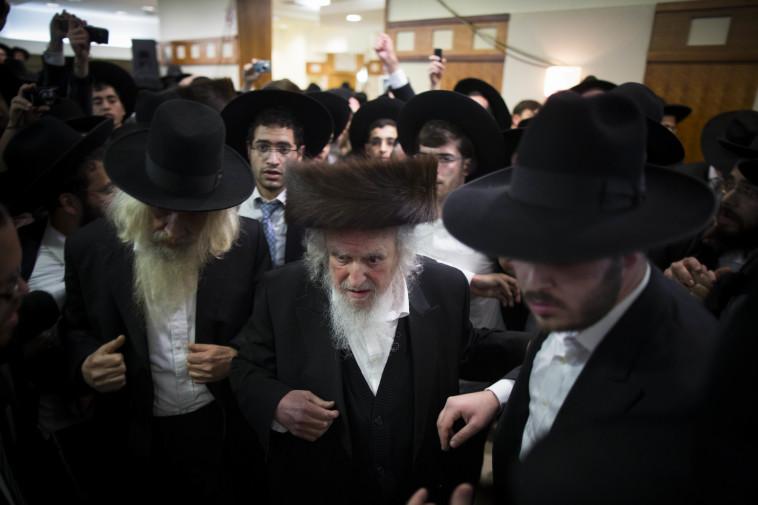 הרב שמואל אוירבך. צילום: יונתן זינדל, פלאש 90
