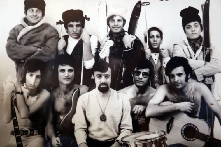 האמנים בצעירותם. צילום: אריאל בשור
