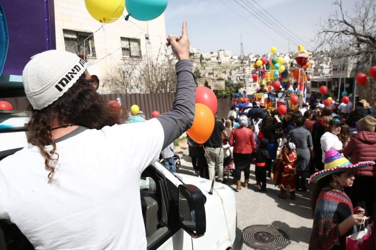 עדלאידע גם בחברון. צילום: הלל מאיר/TPS