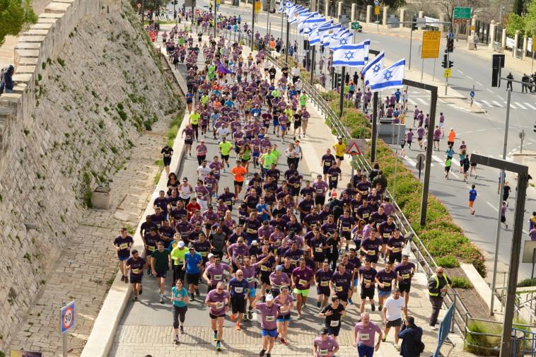 מרתון ירושלים. צילום: פלאש 90