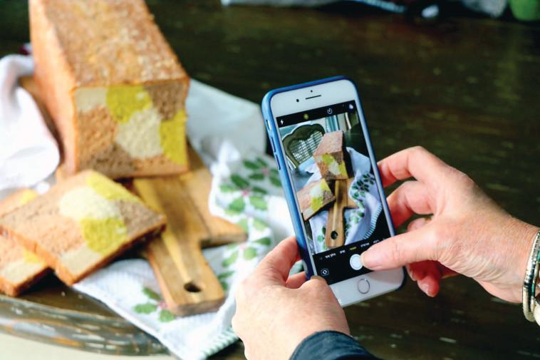סדנת צילום אוכל באמצעות הטלפון הנייד (צילום: ענבל אסולין)